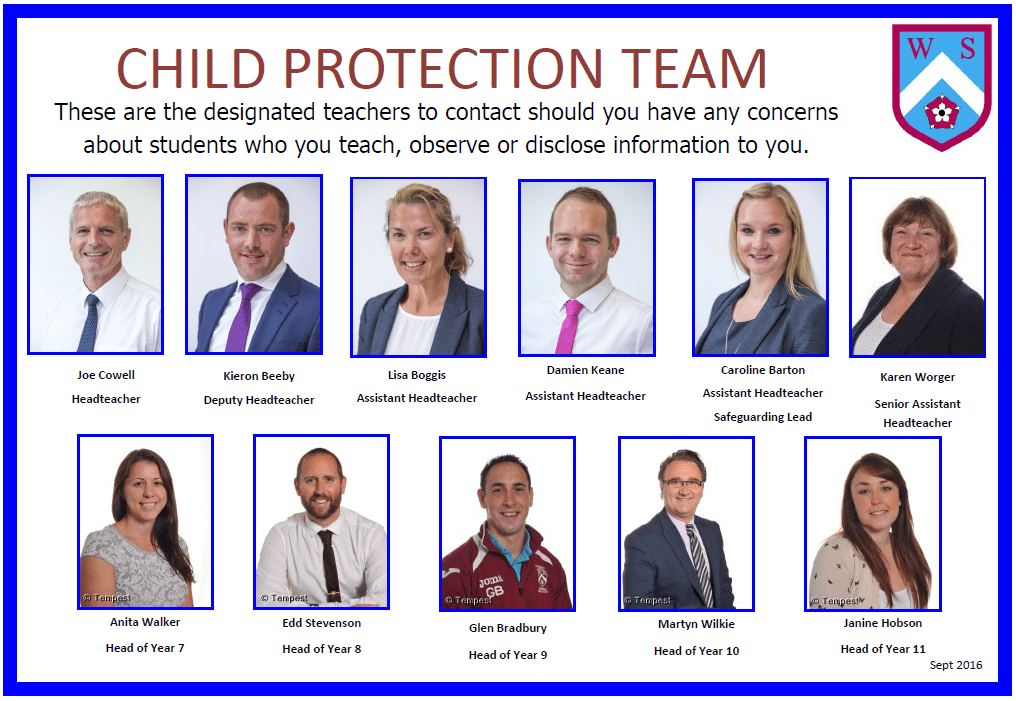Child Protection Team Poster Jan 2017