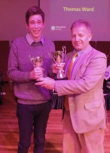 Tom Ward - Overall Outstanding GCSE Results - Male
